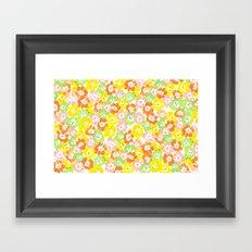 Morning Glory  - Sun Multi Framed Art Print