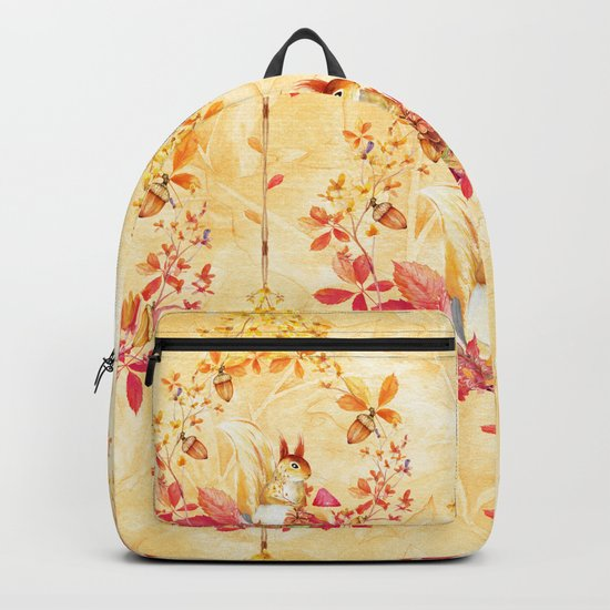 Autumn leaves #29 Backpack