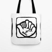 baseball Tote Bags featuring Baseball by Kapoccia