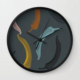 Chili Wall Clock