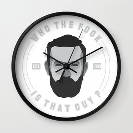 Conor McGregor Wall Clock