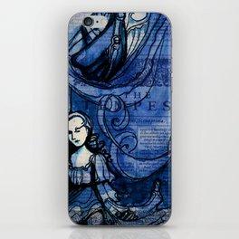 The Tempest - Miranda - Shakespeare Folio Illustration iPhone Skin