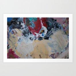 The Artist's Remains #2 Art Print
