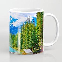 Lake in switzerland Coffee Mug