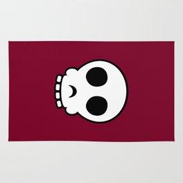 Goofy skull Rug
