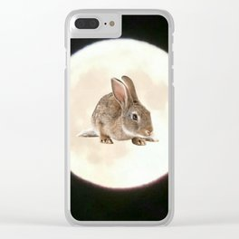 Moonrabbit 4 Clear iPhone Case