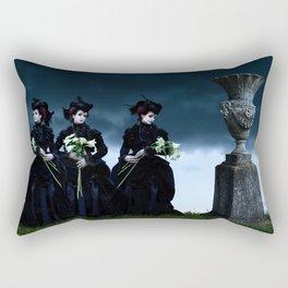 Mourning Rectangular Pillow