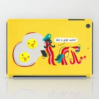 bacon iPad Cases featuring Bacon by Bakal Evgeny