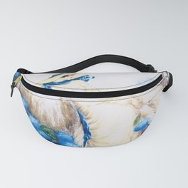12,000pixel-500dpi - Louis Icart - Hunting - Pink Lady - Digital Remastered Edition Fanny Pack
