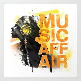 Music Affair Art Print