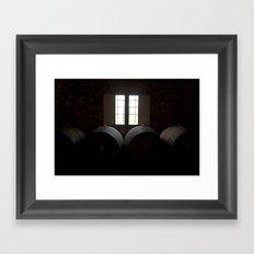 Wine in Chianti Framed Art Print