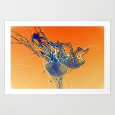 Medusan I Art Print
