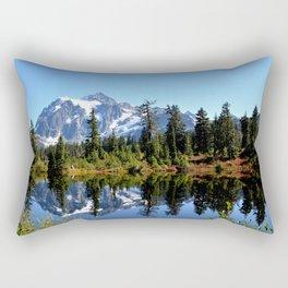 Mount Shuksan on a Sunny Day Rectangular Pillow
