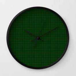 MacLean Tartan Wall Clock