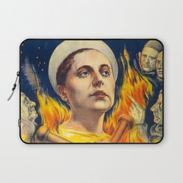 Joan of Arc (the Passion of), 1928 (Vintage Movie Poster) Laptop Sleeve