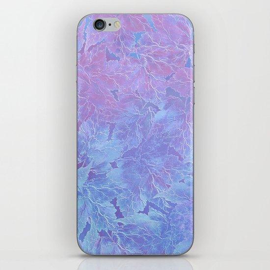 Frozen Leaves 3 iPhone Skin