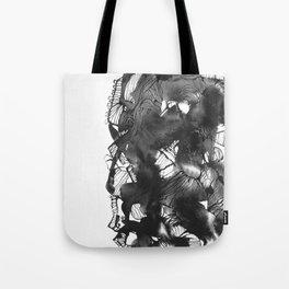 Black art Tote Bag