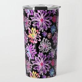 Painted Floral II Travel Mug