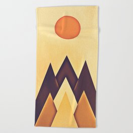 mountain 115 Beach Towel