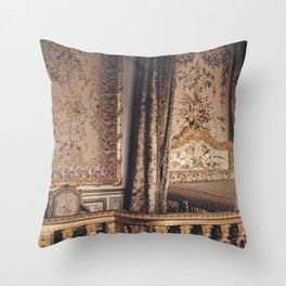 La Chambre de Marie Antoinette Throw Pillow