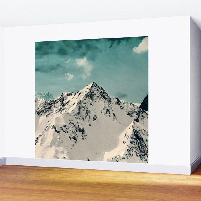 Snow Peak Wall Mural