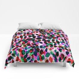 Rainbow Drizzle Jewel Comforters