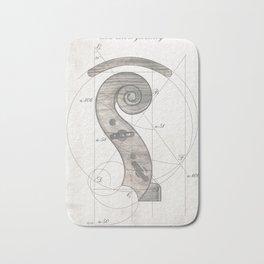 musical geometr.eye Bath Mat