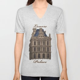 Louvre Palace Unisex V-Neck