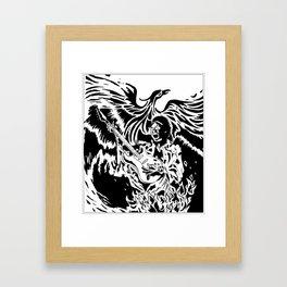 Jimi Hendrix Tribute Framed Art Print