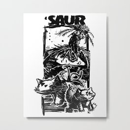 Saur Metal Print