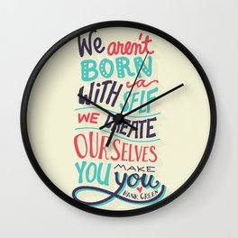 You make you Wall Clock