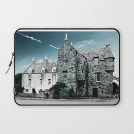 Fordyce Scotland Wee House Blue Vintage Laptop Sleeve