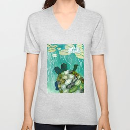 Two-Headed Turtle II Unisex V-Neck