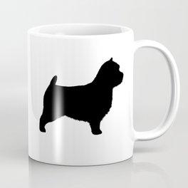 Norwich Terrier Silhouette Coffee Mug