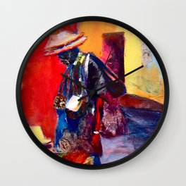 Hats for sale Wall Clock