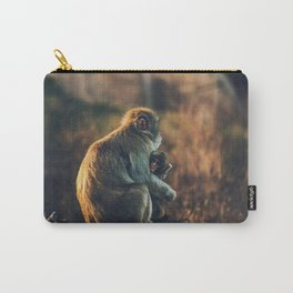 Macaque Motherly Love Carry-All Pouch