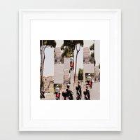 roman Framed Art Prints featuring Roman Traffic by Eva Lesko