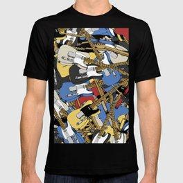 USA Guitar T-shirt