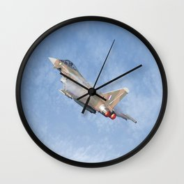 Eurofighter Wall Clock