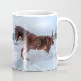 Fire and Ice - Equine Photography Coffee Mug