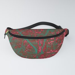 Diamond Forest Fanny Pack