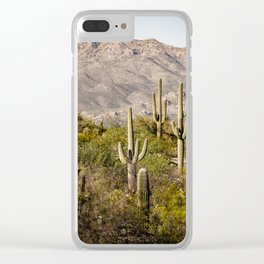 Scenes from Arizona, No. 2 Clear iPhone Case