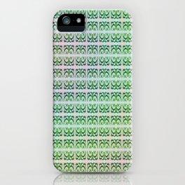 K - pattern variation iPhone Case