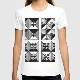Engraved Patterns T-shirt