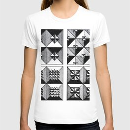 Engraved Patterns T-shirt