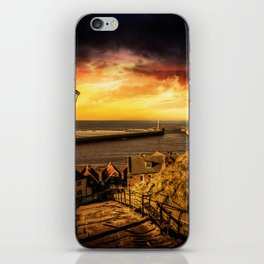 Tourists Rest iPhone Skin