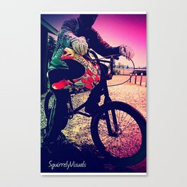 Unknown Racer Canvas Print