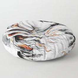 Dark Beauty Horse Floor Pillow