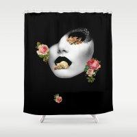 noir Shower Curtains featuring : noir : by Bauerhorst