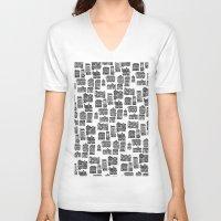 edinburgh V-neck T-shirts featuring Little Edinburgh by Peony Gent